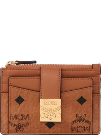 MCM All-over Logo Wallet