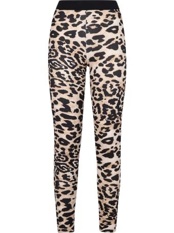 Paco Rabanne Leopard Print Leggings