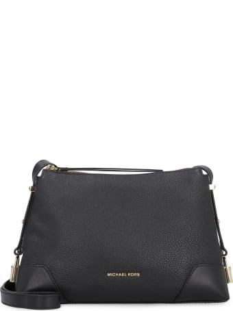 Michael Kors Crosby Leather Small Shoulder Bag
