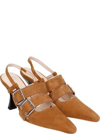 Kalda Niek Sandals In Brown Suede