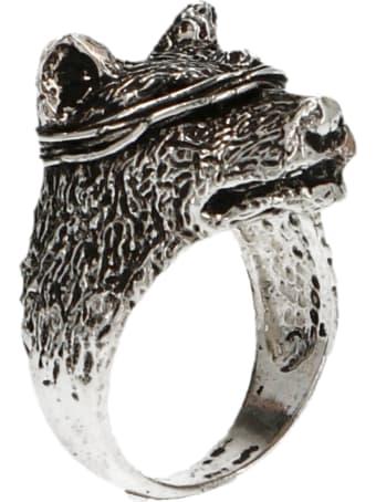GIACOMOBURRONI 'indomitus' Ring