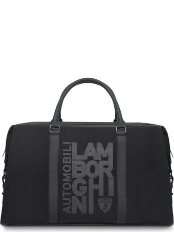 Automobili Lamborghini Weekender Bag With Destructured Logo