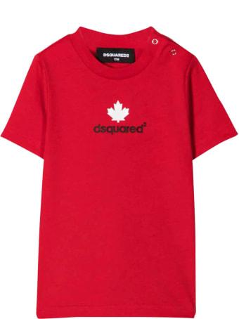 Dsquared2 Newborn Red T-shirt