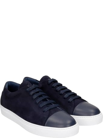 National Standard Edition 3 Sneakers In Blue Suede