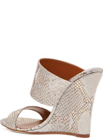 Paris Texas Coconut Wedge Sandals