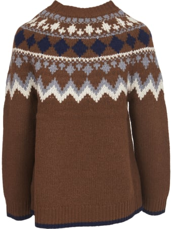 SEMICOUTURE Norwegian Sweater