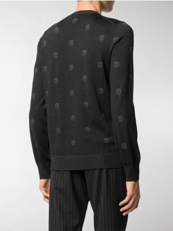 Alexander McQueen Allover Skull Sweater
