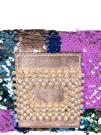 Gedebe My Love Small Bag With Multicolored Sequins