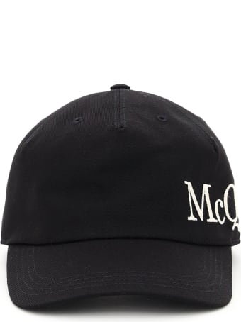 Alexander McQueen Baseball Cap Oversized Logo