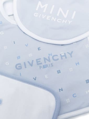 Givenchy Logo Print Bib Set