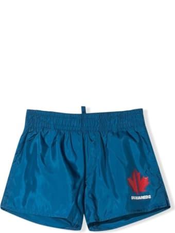 Dsquared2 Blue Swim Shorts
