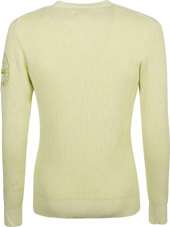Stone Island Side Logo Knitted Sweatshirt