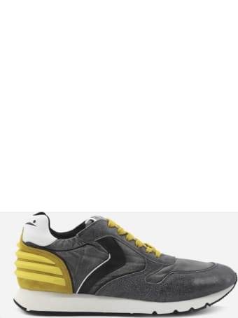 Voile Blanche Liam Power Sneakers In Leather