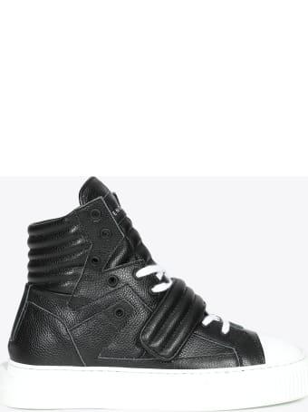 Gienchi Black Deer Leather Hypnos Sneaker
