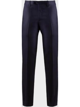 Sartorio Napoli Classic Pants - Blue Light Wool