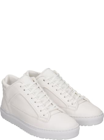 Etq Mt 02 Sneakers In White Leather