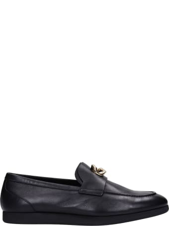 Givenchy Loafers In Black Leather