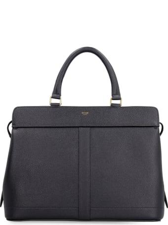 Celine Cabas De France Leather Medium Bag