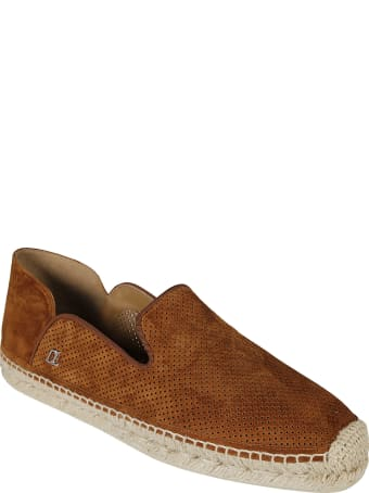 Christian Louboutin Perforated Slip-on Sneakers