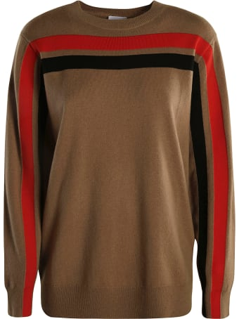 Burberry Stripe Detail Sweater