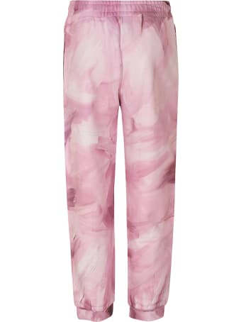 Moschino Logo Print Trousers
