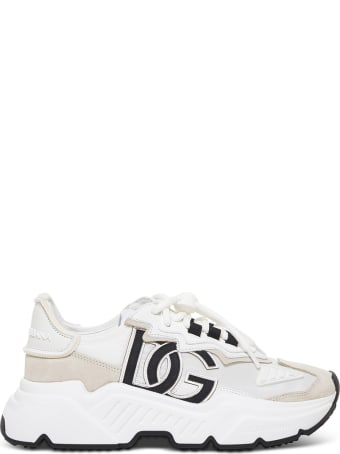 Dolce & Gabbana Daymaster Sneakers In Mix Of Materials