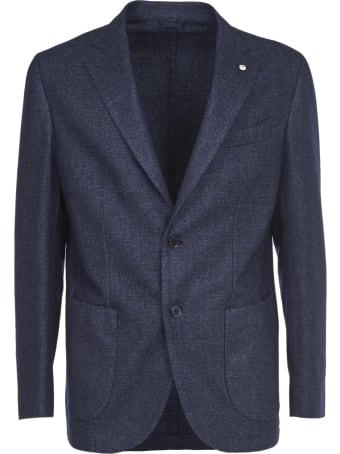 L.B.M. 1911 Blue Wool Jacket