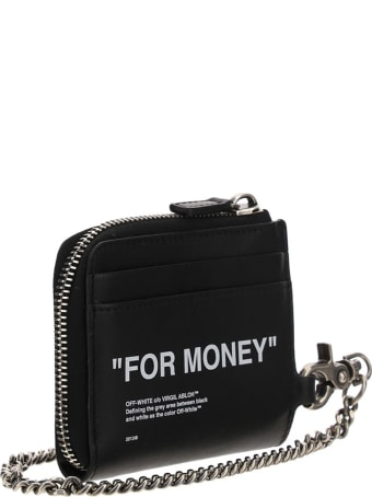 Off-White Off White Chain Wallet