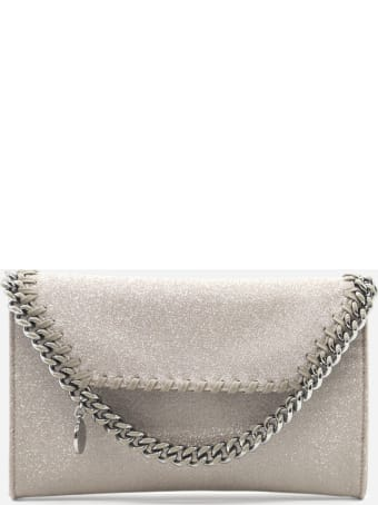 Stella McCartney Falabella Mini Shoulder Bag In Glitter