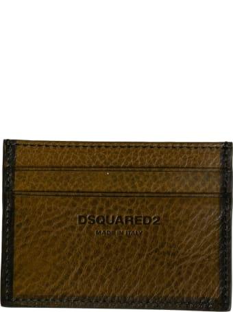 Dsquared2 Engraved Logo Card Holder