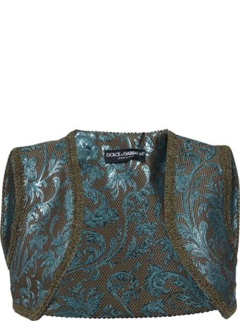 Dolce & Gabbana Floral Embroidered Gilet