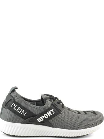 Philipp Plein  Black/gray Tecno-fabric Women's Sneakers