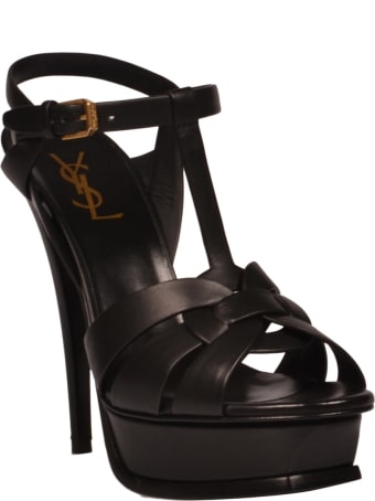 Saint Laurent High Heel Leather Up