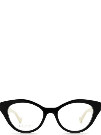 Gucci Gucci Gg0959o Black & Ivory Glasses