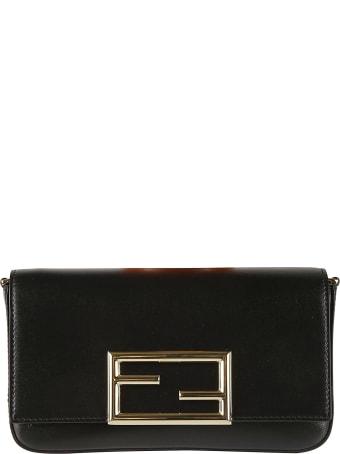 Fendi Logo Front Shoulder Bag