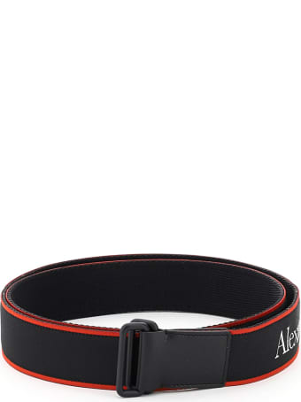 Alexander McQueen Jacquard Logo Belt