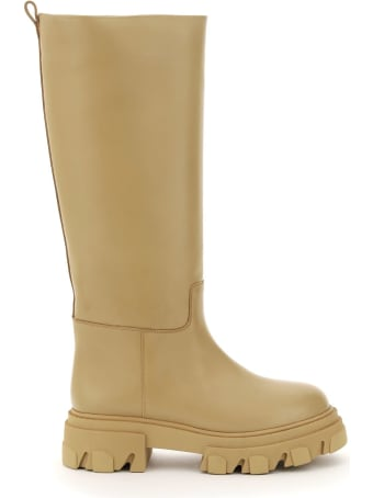 GIA BORGHINI Tubular Combat Boots