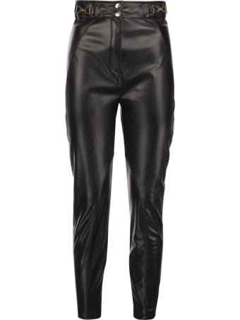 Elisabetta Franchi Stretch Trousers With Darts