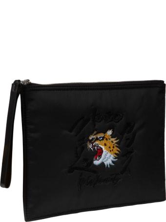 Kenzo Logo & Tiger Clutch