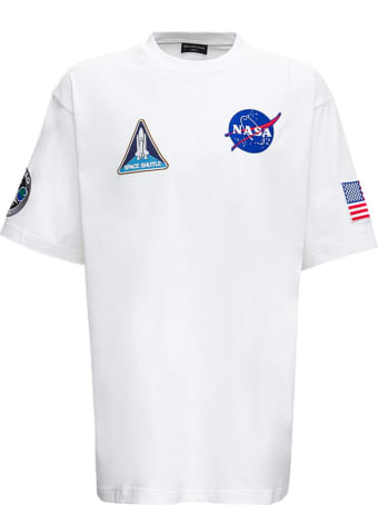Balenciaga Boxy Cotton T-shirt With Patch