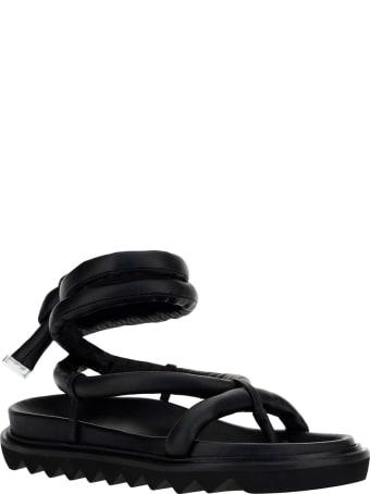 Studio Amelia Tubular Wrap Flat Sandals