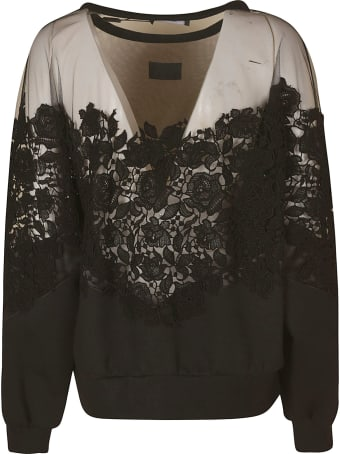 Dolce & Gabbana Floral Lace Sweater