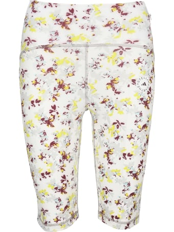 Adidas by Stella McCartney Floral-print Ciclista Shorts