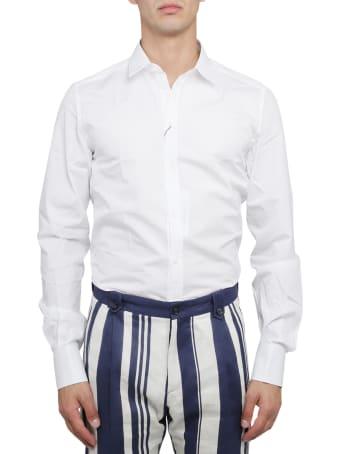Dolce & Gabbana White Gold Shirt