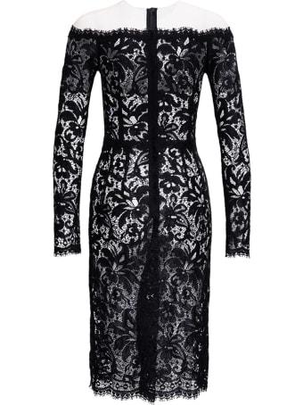 Dolce & Gabbana Black Lace Long Dress
