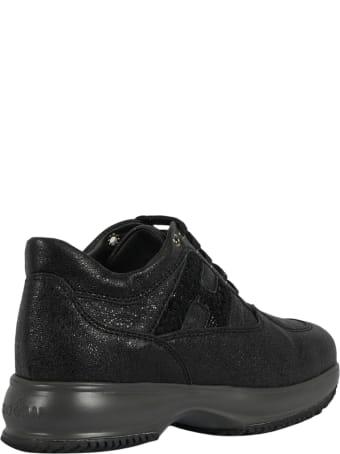 Hogan Leather Laced Shoe