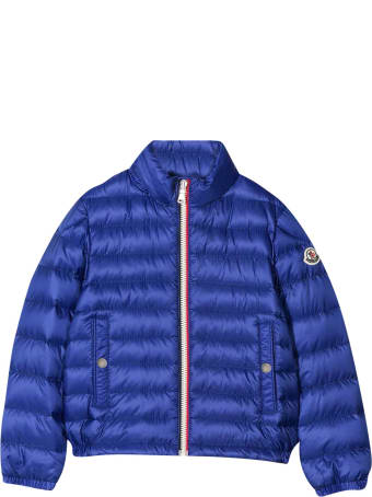 Moncler Blue Lightweight Jacket