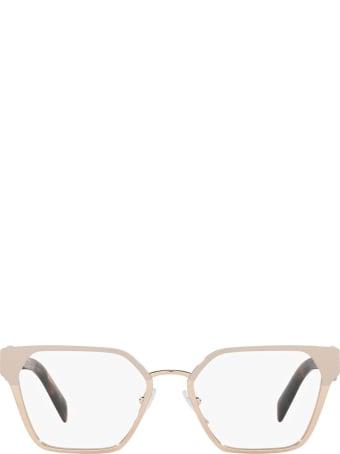 Prada Prada Pr 63wv Powder/ Pink Gold Glasses