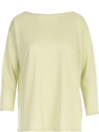 Stefano Mortari Boat Neck Wide L/s T-shirt