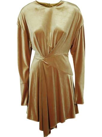 Alexandre Vauthier Gathered Asymmetric Short Dress